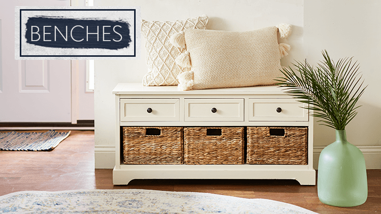 Perfect Living Room | Benches & More | zulily