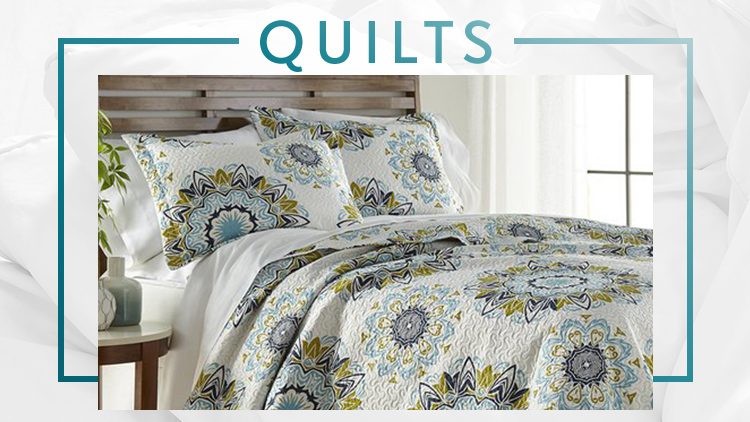 White Sale Quilts Zulily