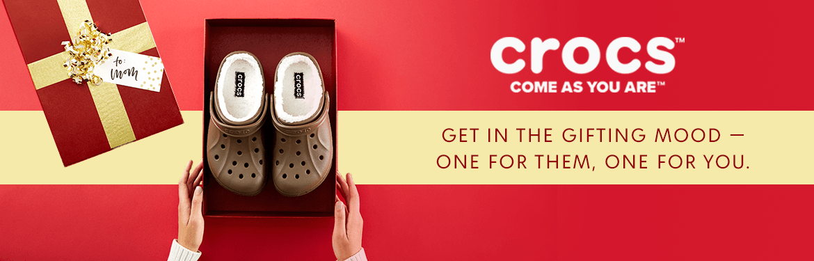 910ed848c777fe Crocs. Don t you wish all gifts were this comfy  Crocs  Women