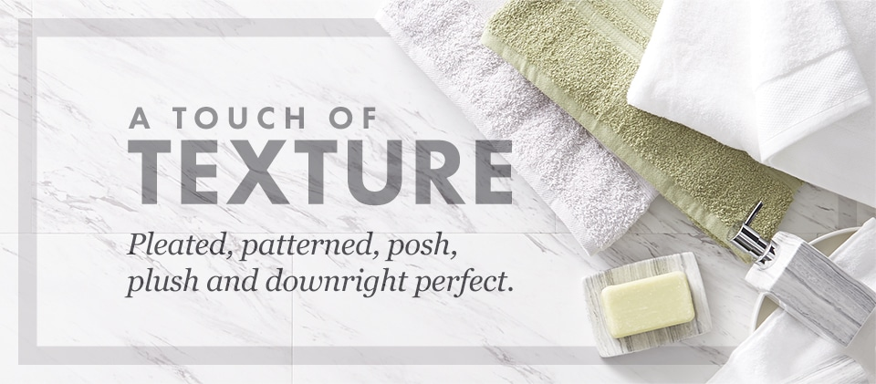 Touch Of Texture Bath Zulily