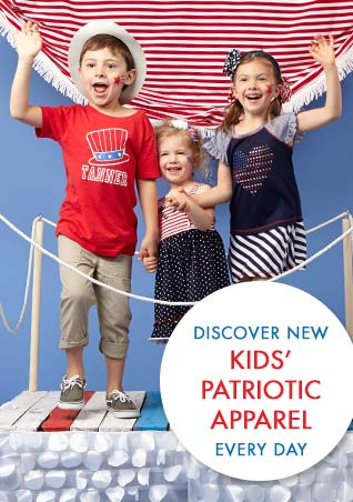 4c40f94a Kids Patriotic Clothing | Zulily